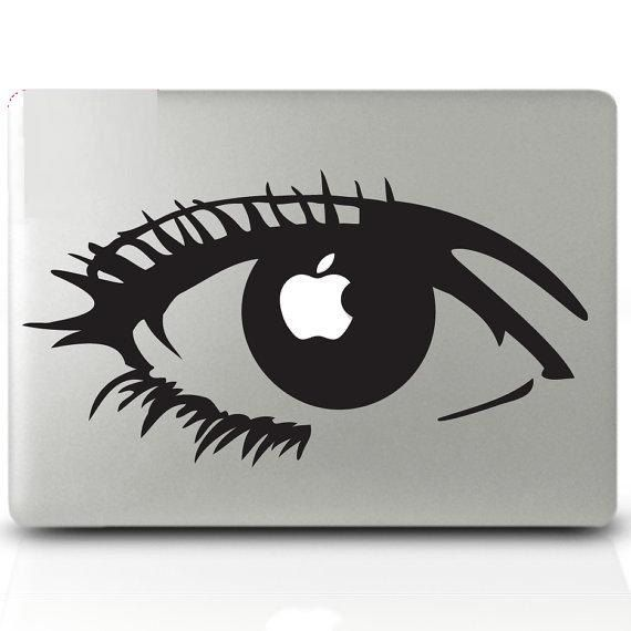 Zombie Snow White----Mac Decal Macbook Stickers Macbook vinyl Apple Decal for Macbook Pro. $8.99, via Etsy.