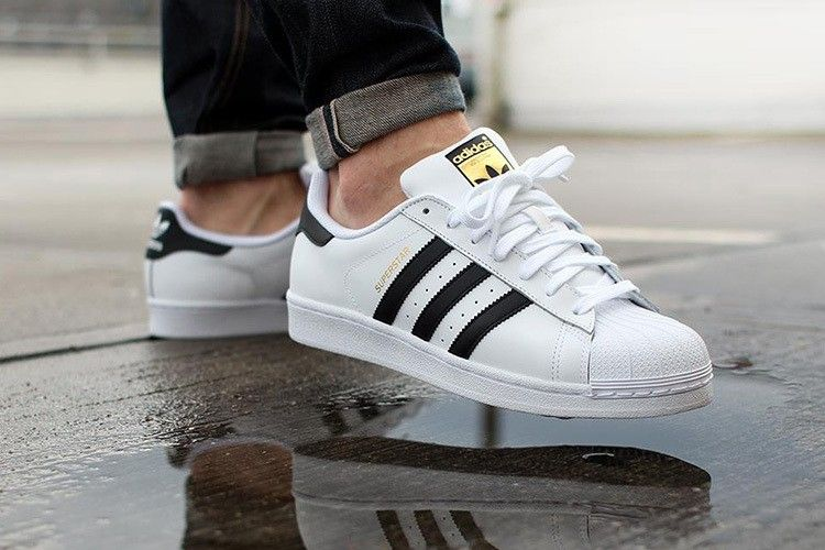 Adidas Superstar Herren Damen S Originals Turnschuhe C77124 Weiss Schwarz Adidas Schuhe Frauen Adidas Schuhe Schwarz Sneaker