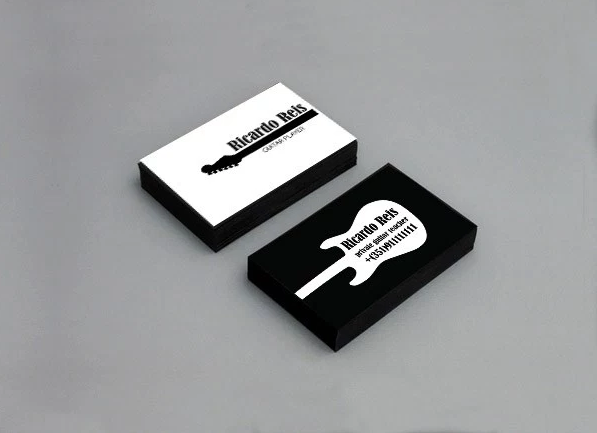 28 Musician Business Card Design You Must See Musician Business Card Business Card Design Metal Business Cards