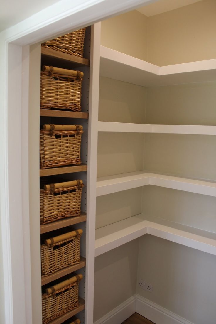 Walk in pantry. Walk in pantry., #diypantry #farmhousepantry #ikeapantry #Pantry #pantryessen... #pantryshelving