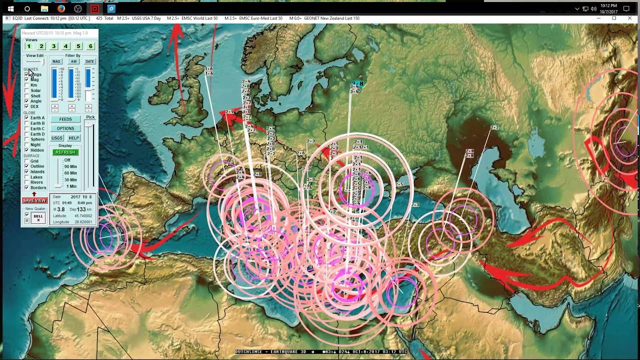 California Quake Map Usgs%0A            West Coast   California earthquake activity  Pressure mov       NEWSPast and Present   Pinterest