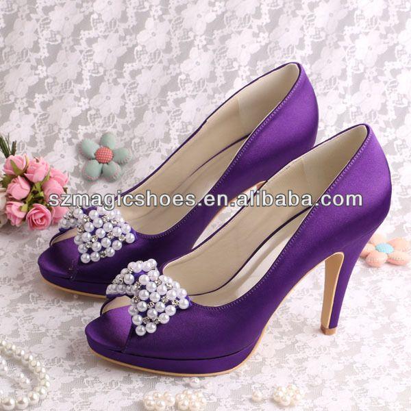 zapatos morados para novia - buscar con google | zapatos novia