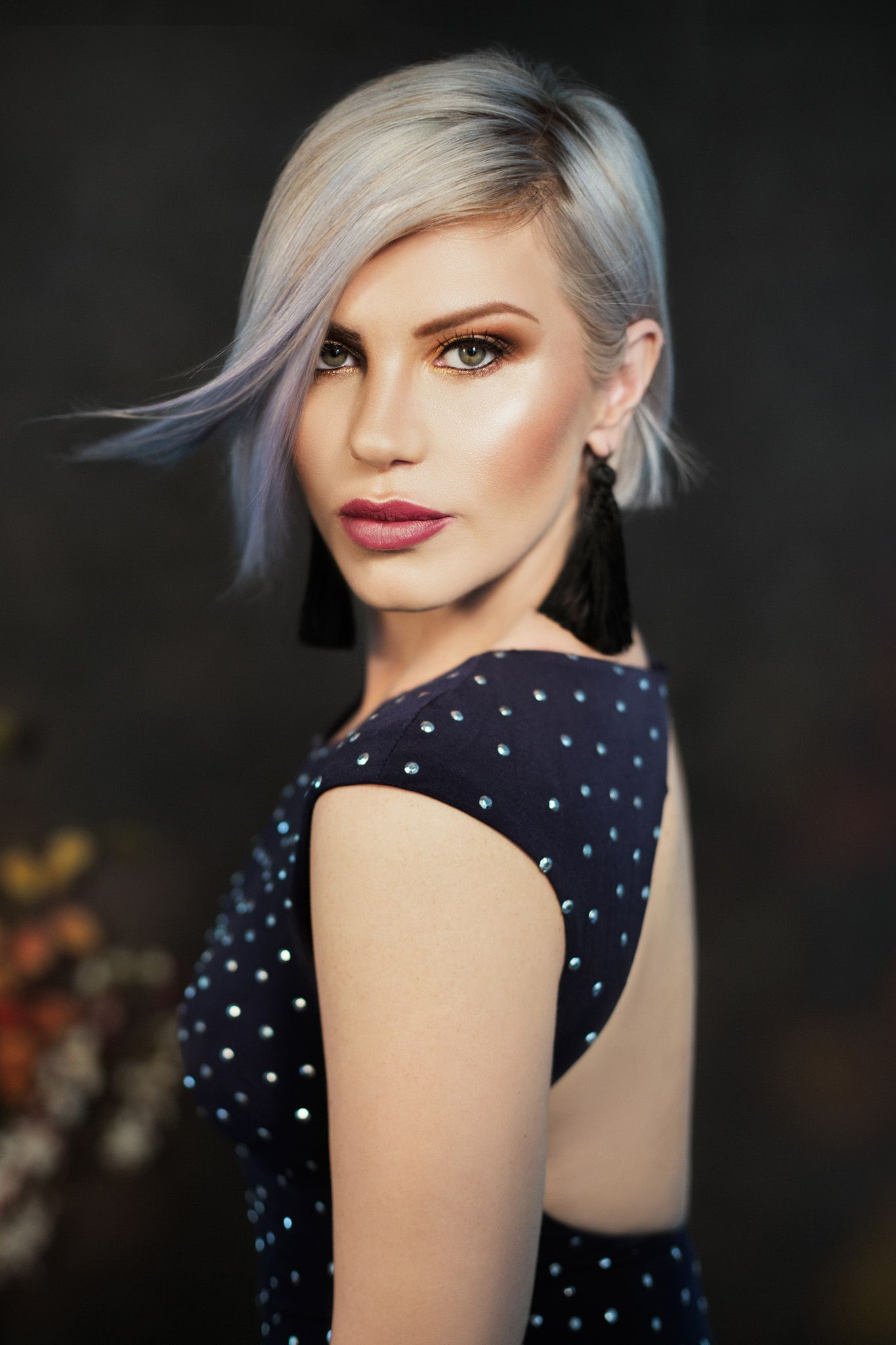 Toned and Cool Blonde | Professional hairstyles ...