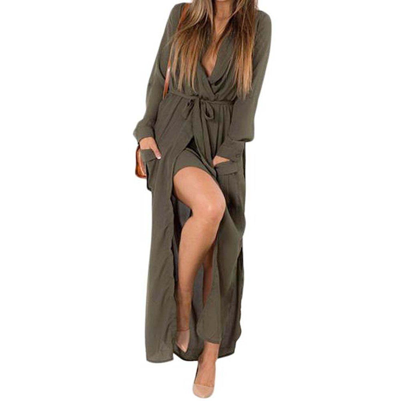 Donalworld® Women Summer Long Sleeve Maxi Eveing Party