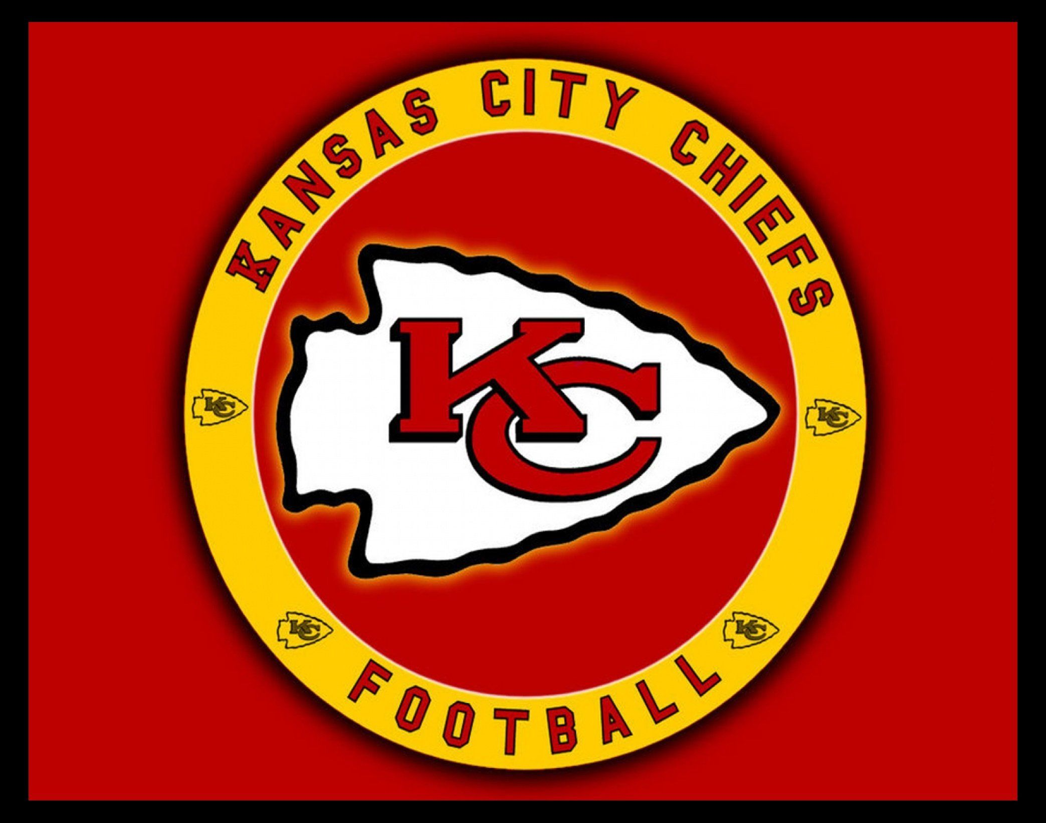 Kansas City Chiefs Arrowhead Logo Poster Gift For Men Women Game Room Wall Art Football Fan Wall Dec Kansas City Chiefs Logo Chiefs Logo Kansas City Chiefs