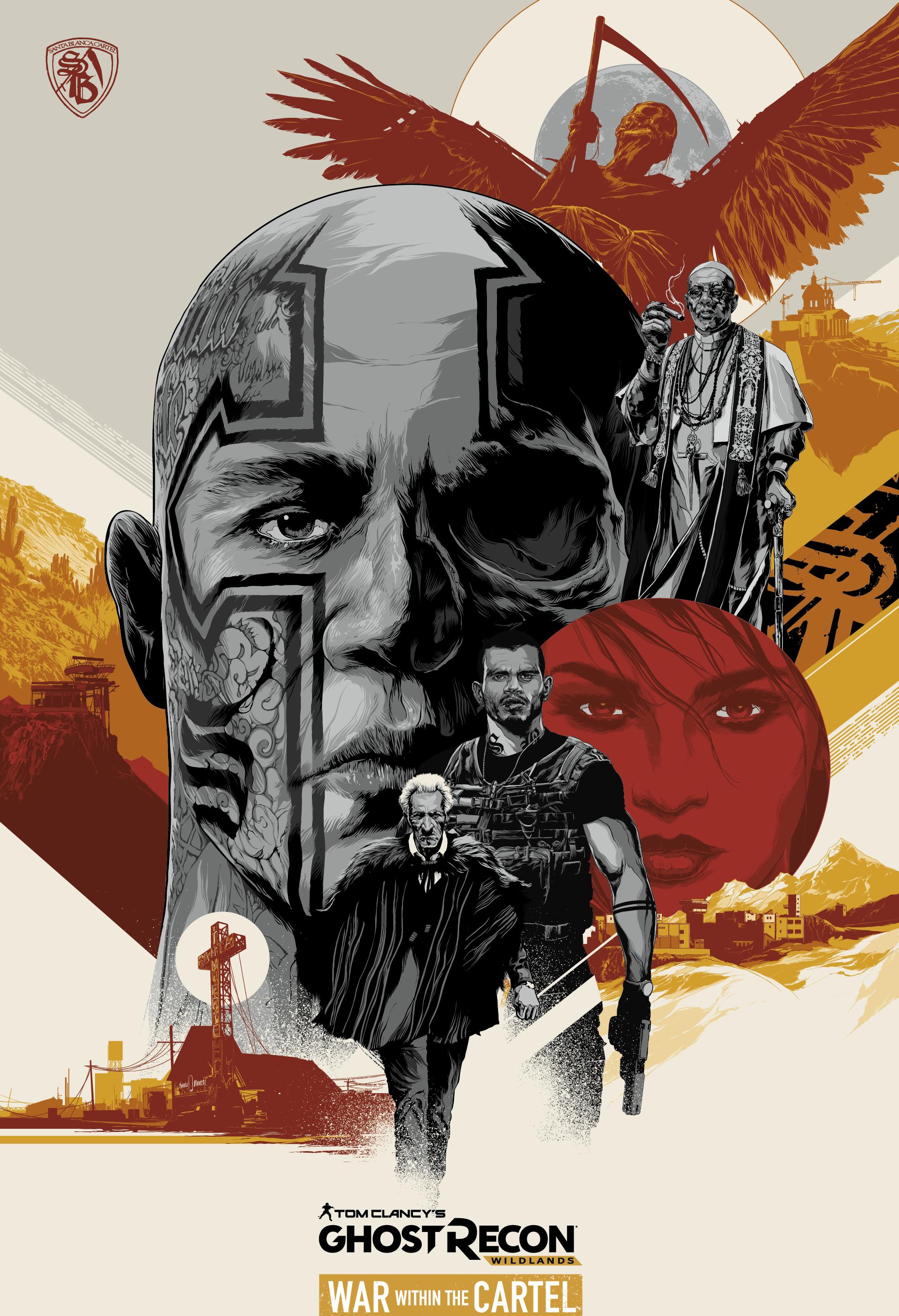 Ghost Recon Wildlands Un Teaser Pour War Within The Cartel Ghost Recon Court Metrage Tom Clancy