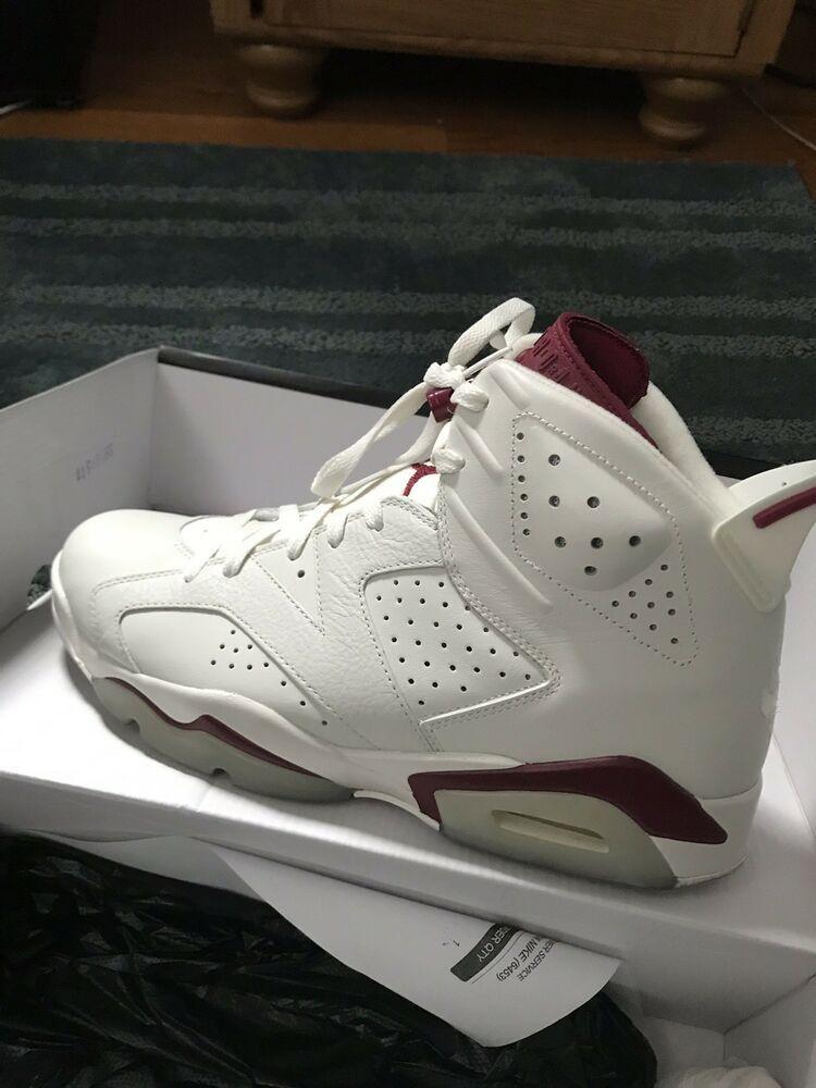 3a241b37e70f35 Nike Air Jordan 6 maroon size 10.5  fashion  clothing  shoes  accessories   mensshoes  athleticshoes (ebay link)