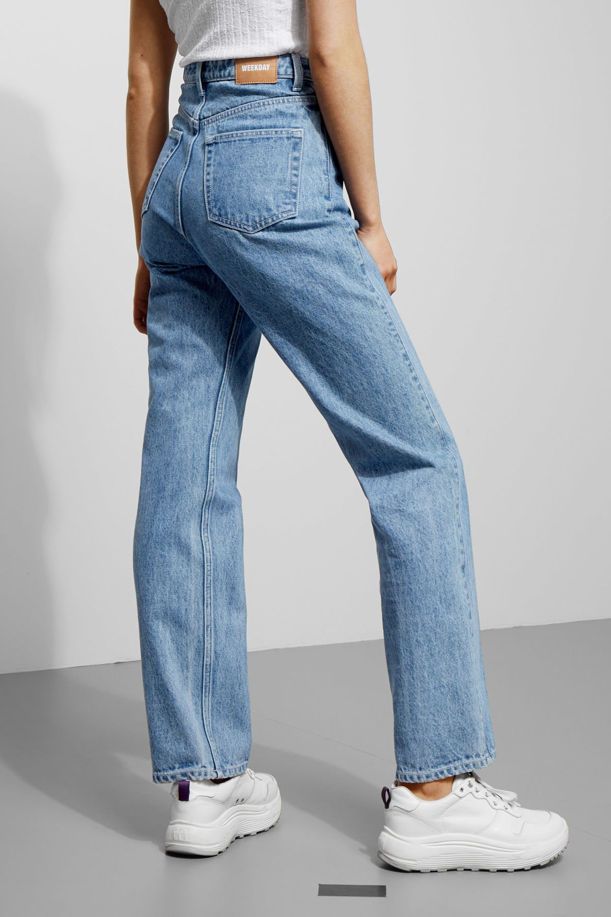 authorized site nice cheap new high quality Row Sky Blue Jeans - Blue - Jeans   Online clothing in 2019 ...