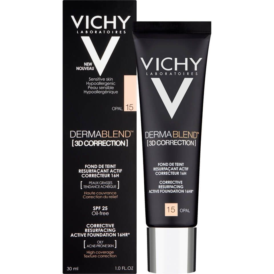 Buy Vichy Dermablend 3d Correction Foundation 30ml Luxury Skincare Hair Care Makeup And Beauty Products At Lookfant Skin Cleanser Products Dermablend Vichy