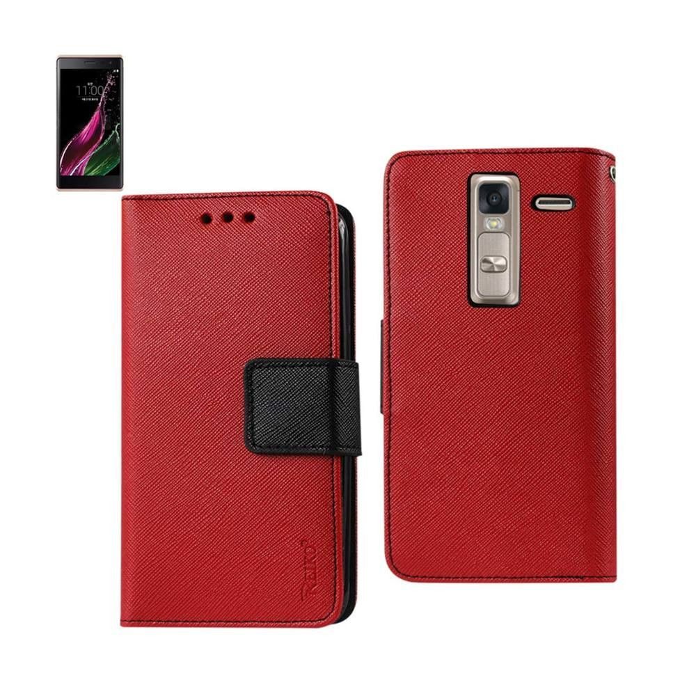 Uncategorized Leather Like Material reiko lg ls675 3 in 1 wallet case with interior leather like material and