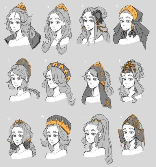 original hairstyles and accessories