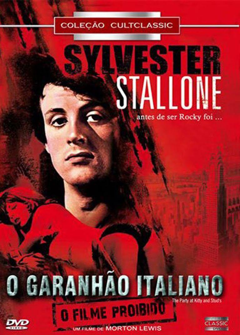1970 O Garanhao Italiano Sylvester Stallone Filmes Dvd