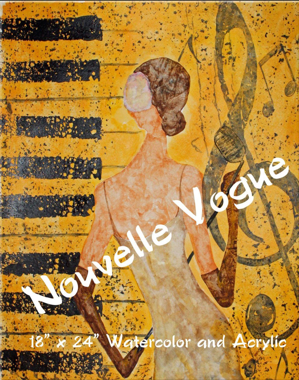 NOUVELLE VOGUE - Lady of Soul. $89.00, via Etsy.