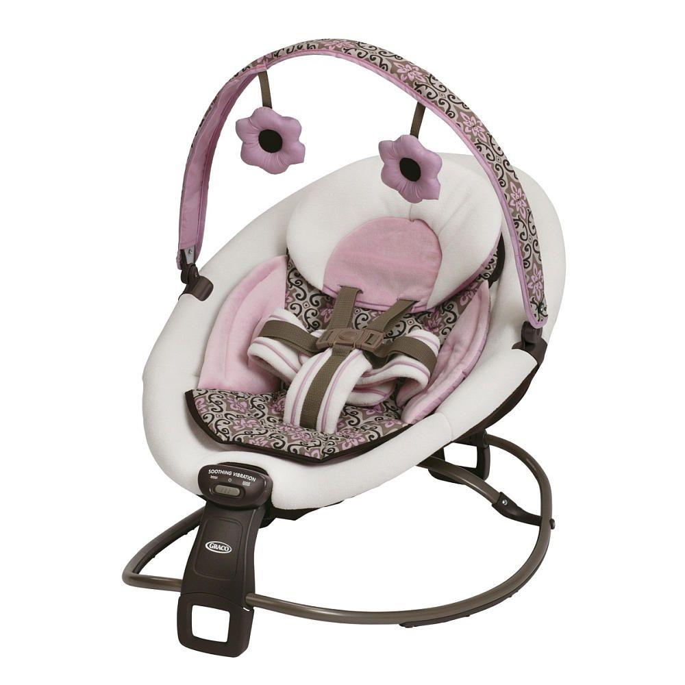 Baby girl vibrating chair - Graco Duetrocker Mena Graco Babies R Us 69 99 Rocker Vibrating