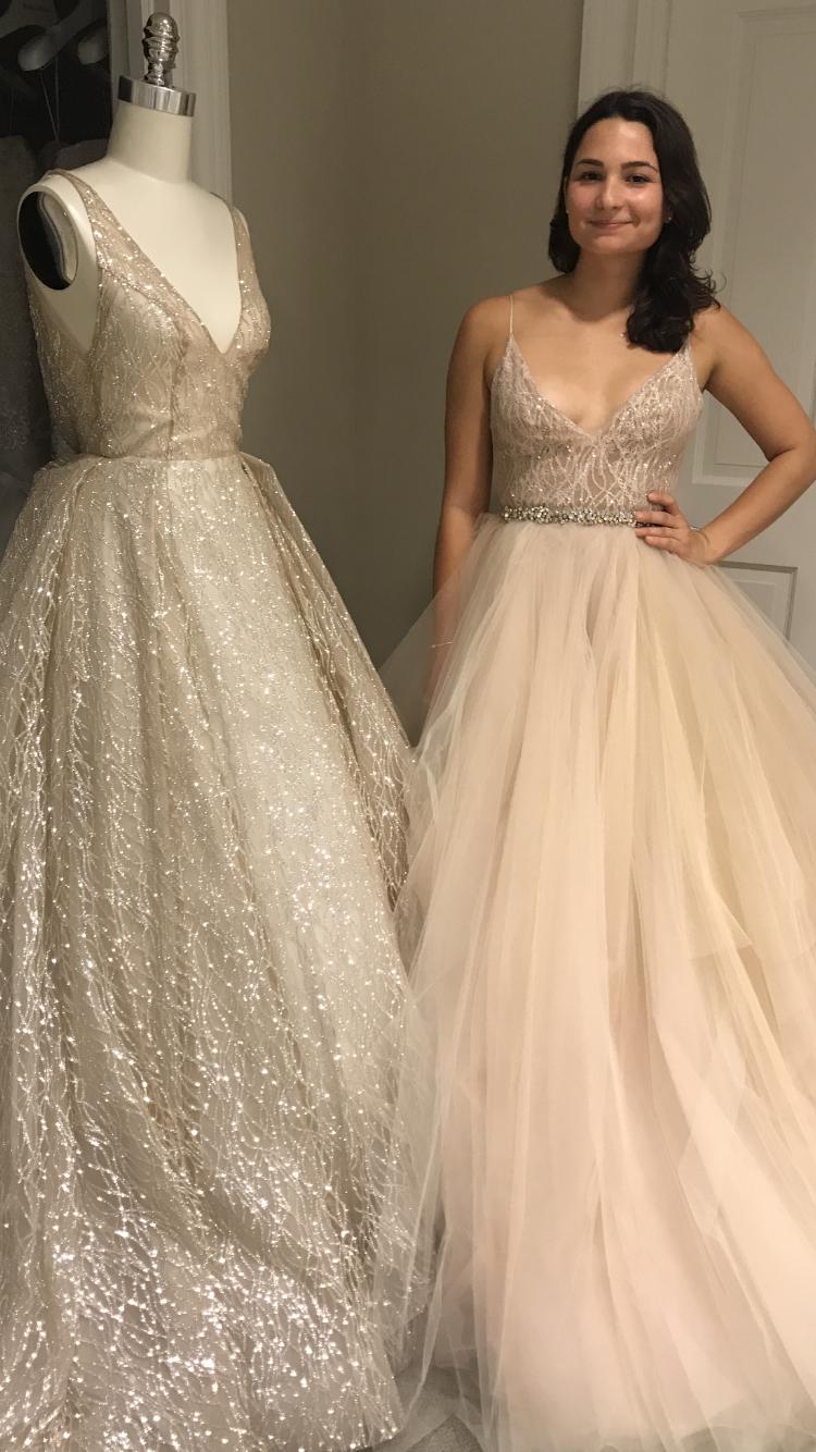 Wedding dresses styles  Lazaro sparkly wedding dresses Styles  and   Mjca