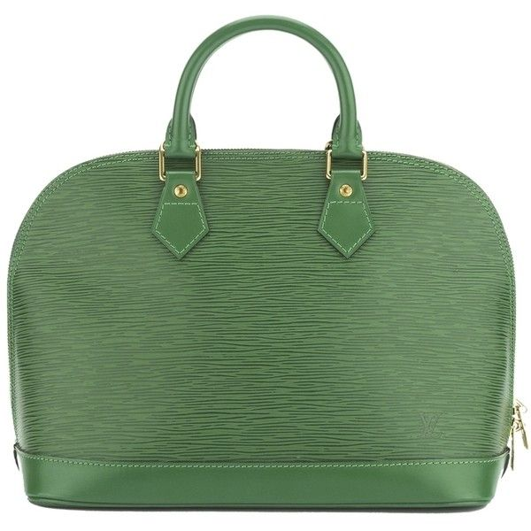 Pre-owned - Green Leather Handbag Louis Vuitton LMdNkUJNt2