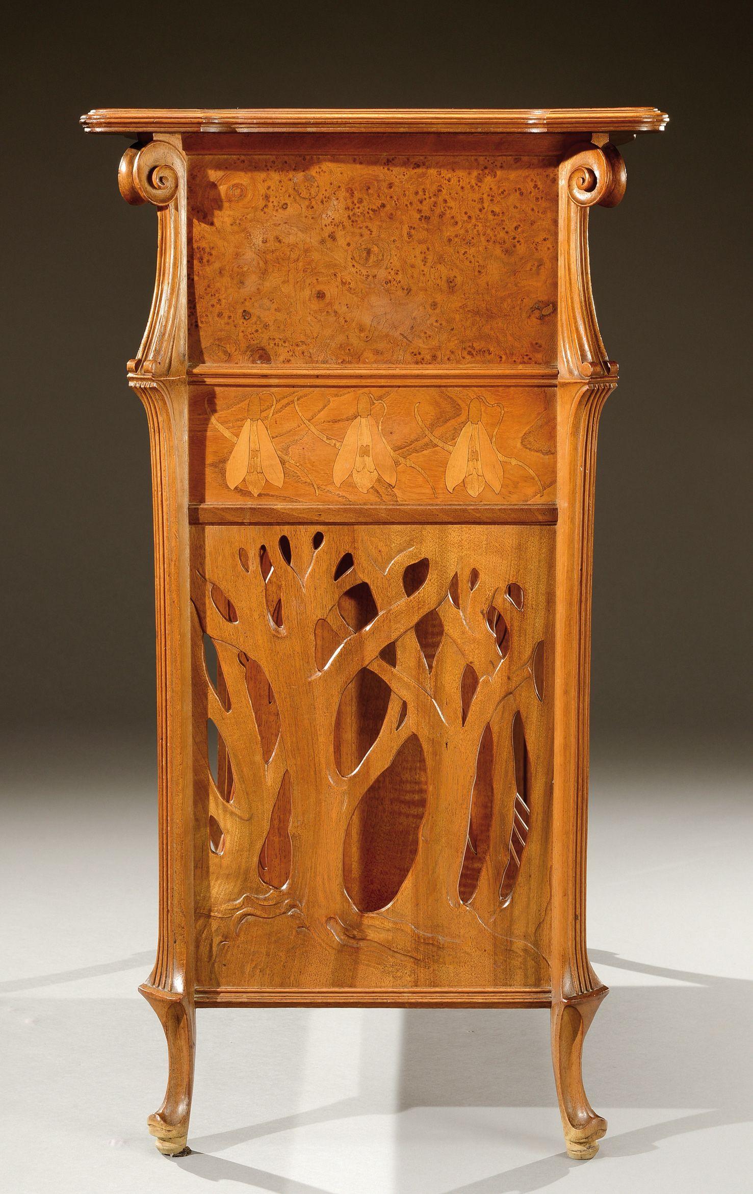 Art Nouveau Furniture Wood