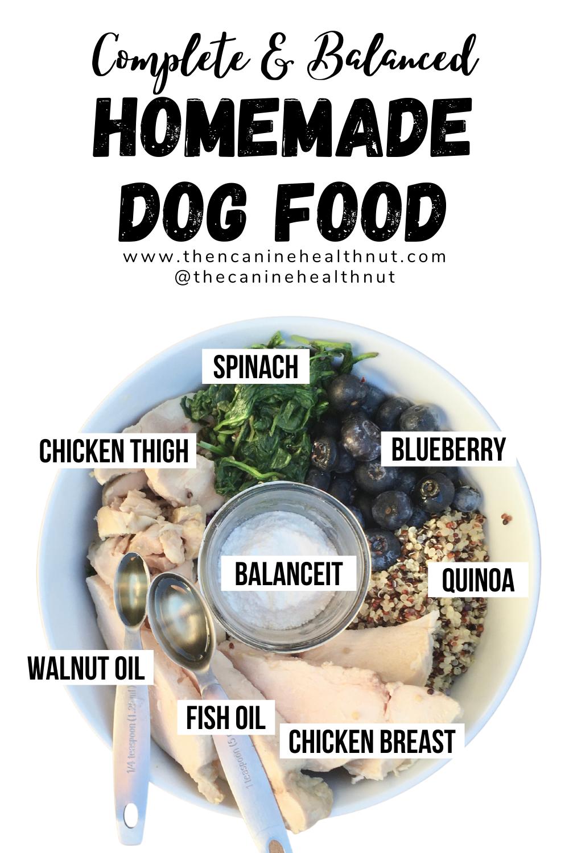 Complete And Balanced Homemade Dog Food Recipe In 2021 Dog Food Recipes Crockpot Dog Food Recipes Healthy Dog Food Recipes