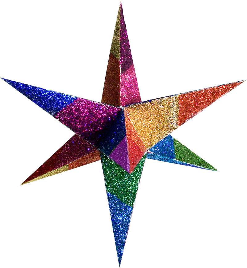 Color Moravian Stars And Decorative 3d Paper Stars 3d Paper Star Paper Stars 3d Paper