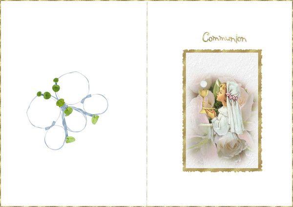 carte communion gratuite à imprimer carte à imprimer communion   Carte felicitation, Carte