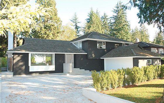 modern remodel house http://plastolux/split-level-goes-modern