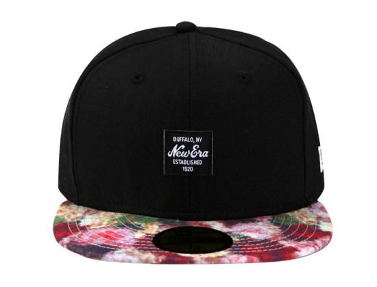 NEW ERA「Floral Spray Visor」59Fifty Fitted Baseball Cap  26c1f12eeb3