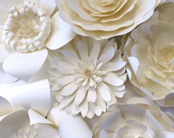 Paper flowers for backdrops or party decor by gillumeventdesigns paper flowers for backdrops or party decor by gillumeventdesigns mightylinksfo