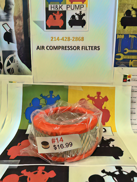 air compressor filters, piston compressor filters, rotary