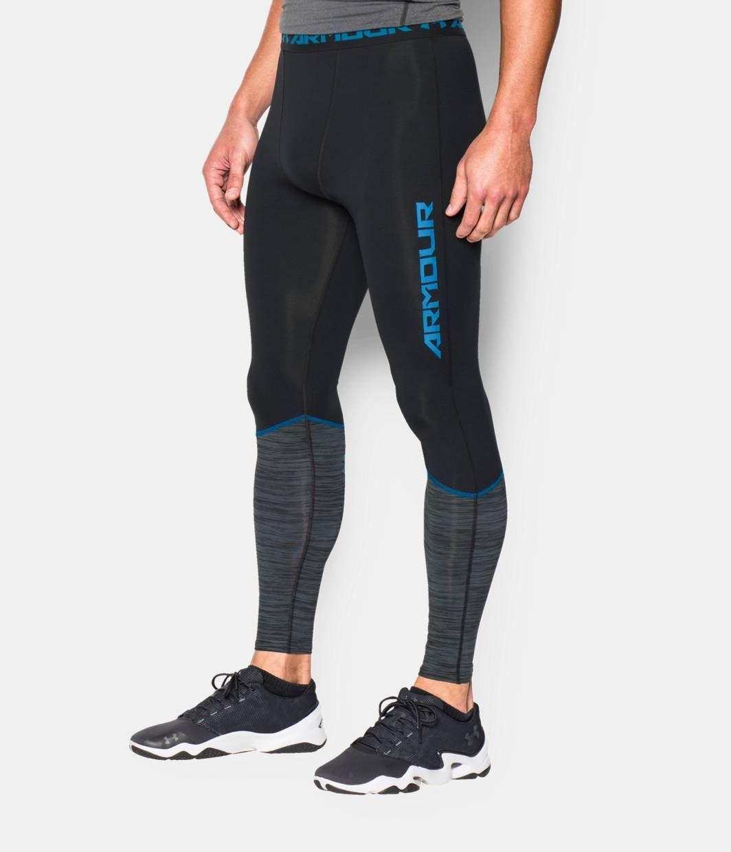 84276ab43d Shop Under Armour for Men's UA HeatGear® Armour Twist Flight Compression  Leggings in our Mens Bottoms department. Free shipping is available in US.
