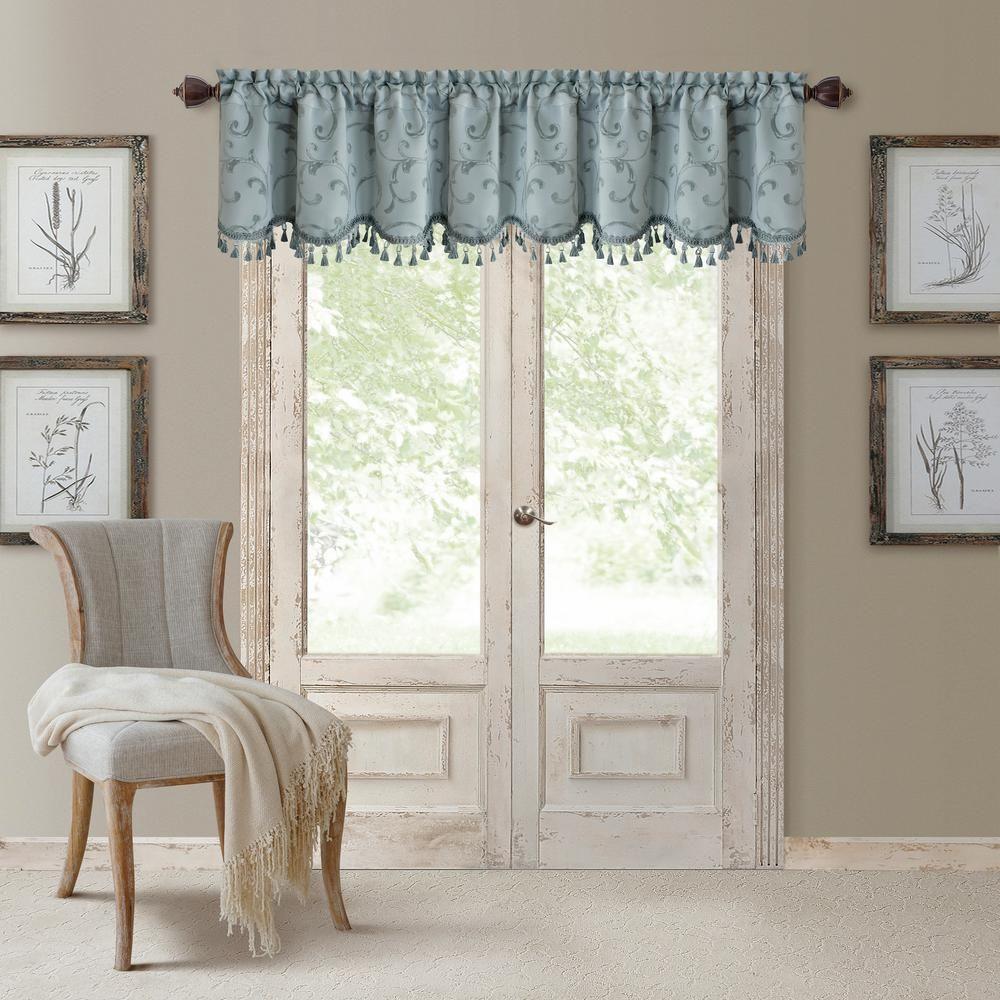 Elrene mia in w x in l polyester blackout woven window