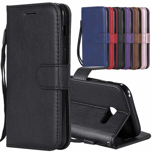 with Free Waterproof Case Leather Flip Case for Samsung Galaxy A710 Wallet Cover with Viewing Stand and Card Slots Bussiness Phone Case