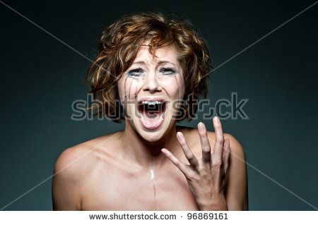 Amazing middle aged women screaming