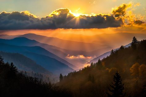 The wonderful Smoky Mountains are a magical place