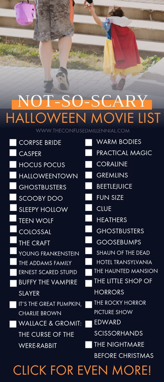 The Ultimate List of Halloween Movies [100+ from Scary to Not-So-Scary!] - The Confused Millennial