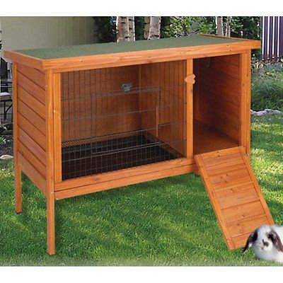 Cages and Enclosure 63108: Ware Premium Plus Rabbit Hutch BUY IT NOW ONLY: $118.19