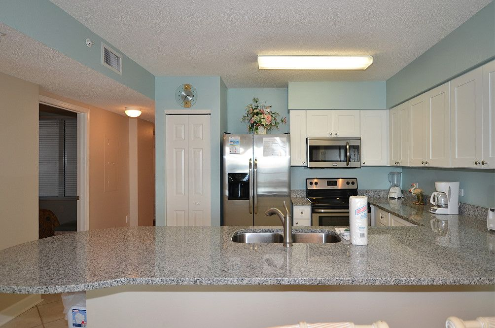 Not only did they remodel but they have new stainless steel appliances!