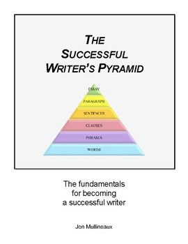 The Successful Writer 39 S Pyramid I Based On Basic Linguistic Principle Oxford Dictionary Define A Writing Exercise Tips Essay