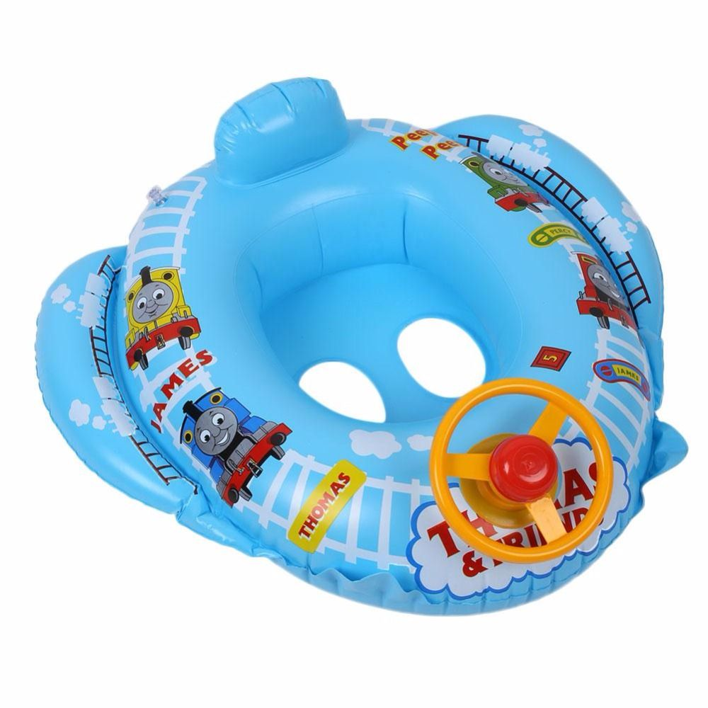 Click to Buy << Bable Kids Toddler Swimming Pool Inflatable Seats ...