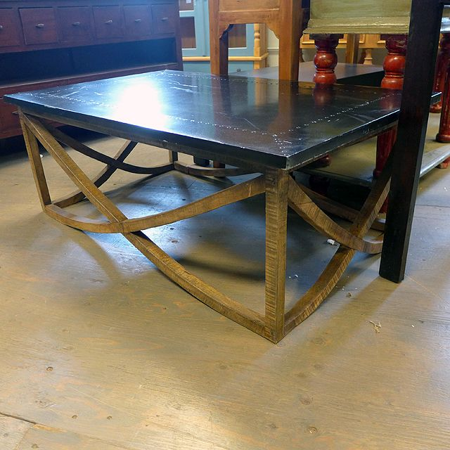 6deddae2fc2f0 Iron and Wood Coffee Table