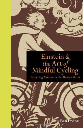 Einstein & The Art of Mindful Cycling: Recent book cover design by Sarah Young