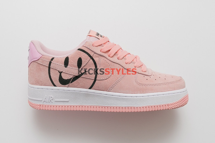 Smiley Face Pink | Nike air force