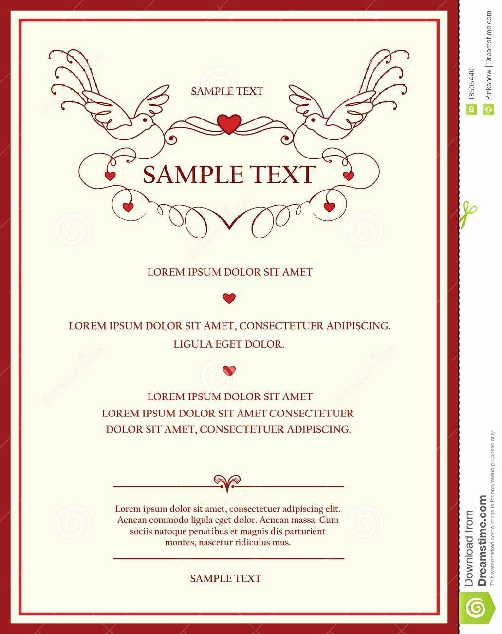 Invitation Card Rsvp Sample