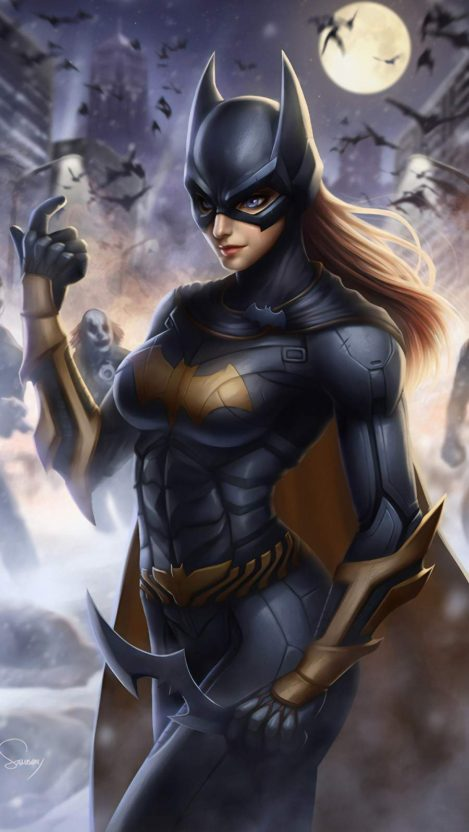 Batgirl Art Iphone Wallpaper Batgirl Art Batgirl Comics Girls