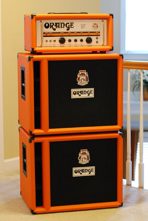 Orange bass amp. My dream rig. | Things I would like to own ...