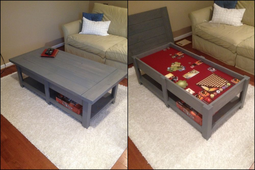 Gaming Coffee Table | Game tables | Pinterest | Table ...