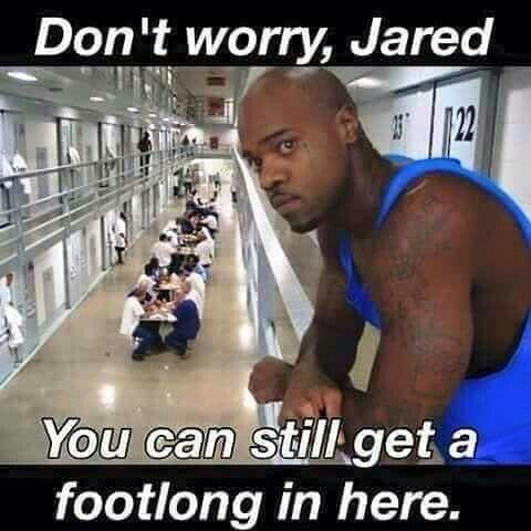 #JaredFogle