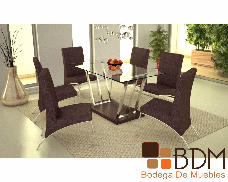 Mesas de comedor para 6 personas modernas buscar con for Comedores modernos mexico df