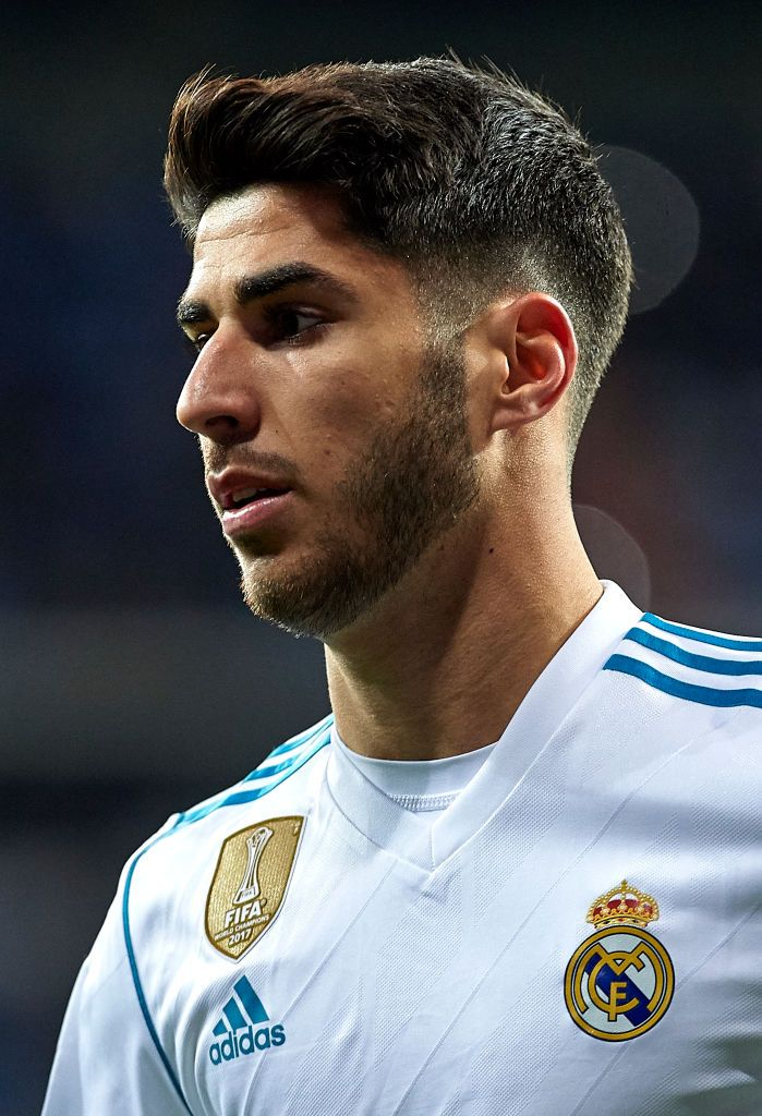 Marco Asensio of Real Madrid looks on during the Copa del ...