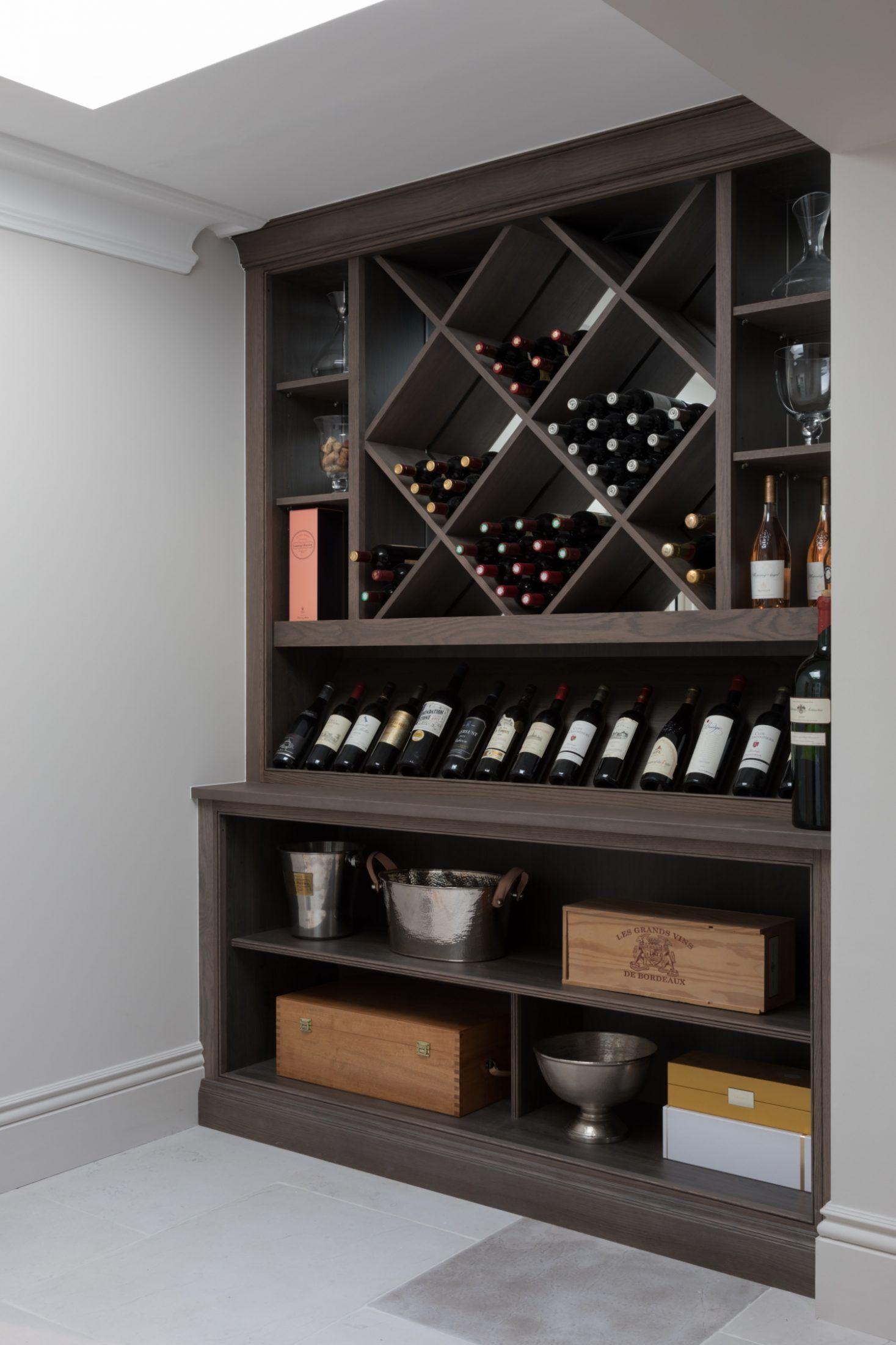 Contemporary wine room design humphrey munson open