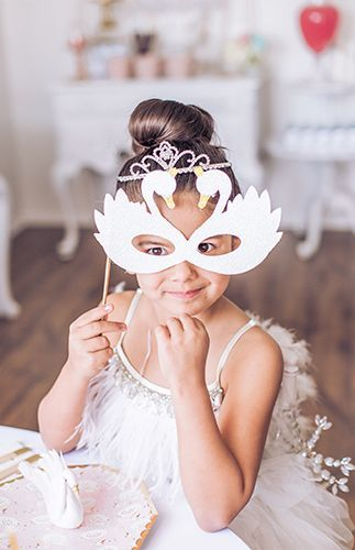 Swan Lake Ballerina Birthday Party - Inspired By This